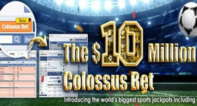 Maxbet 10 million colossus bet