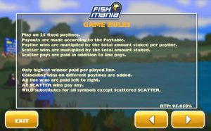 Maxbet mobile casino slot game fish mania game rules