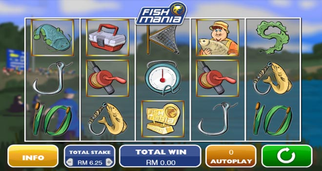 Maxbet mobile casino slot game fish mania featured