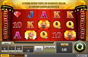 Maxbet casino slot reel