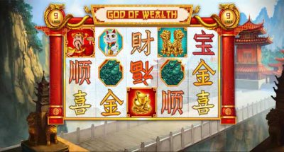 MAXBET god of wealth feature