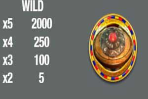 MAXBET king of time wild symbol
