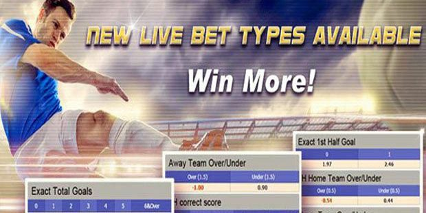 Maxbet new live bet types