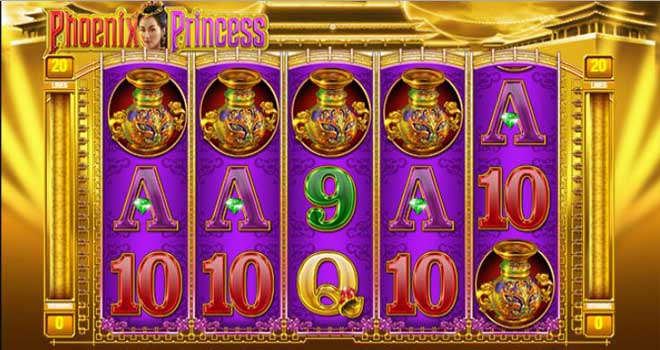 MAXBET phoenix princess feature