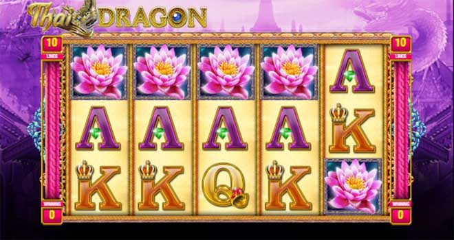 MAXBET thai dragons feature