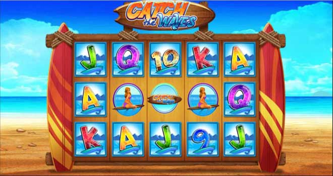 MAXBET catch the waves feature