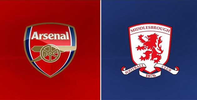 maxbet arsenal vs middlesbrough